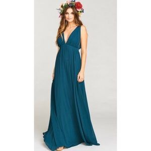 Long Maxi perfect for wedding guests and maternity